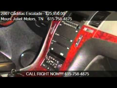 2007 Cadillac Escalade Awd For Sale In Mount Juliet Tn
