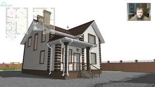 Проект уютного мансардного дома «Смоленск» C-338-ТП
