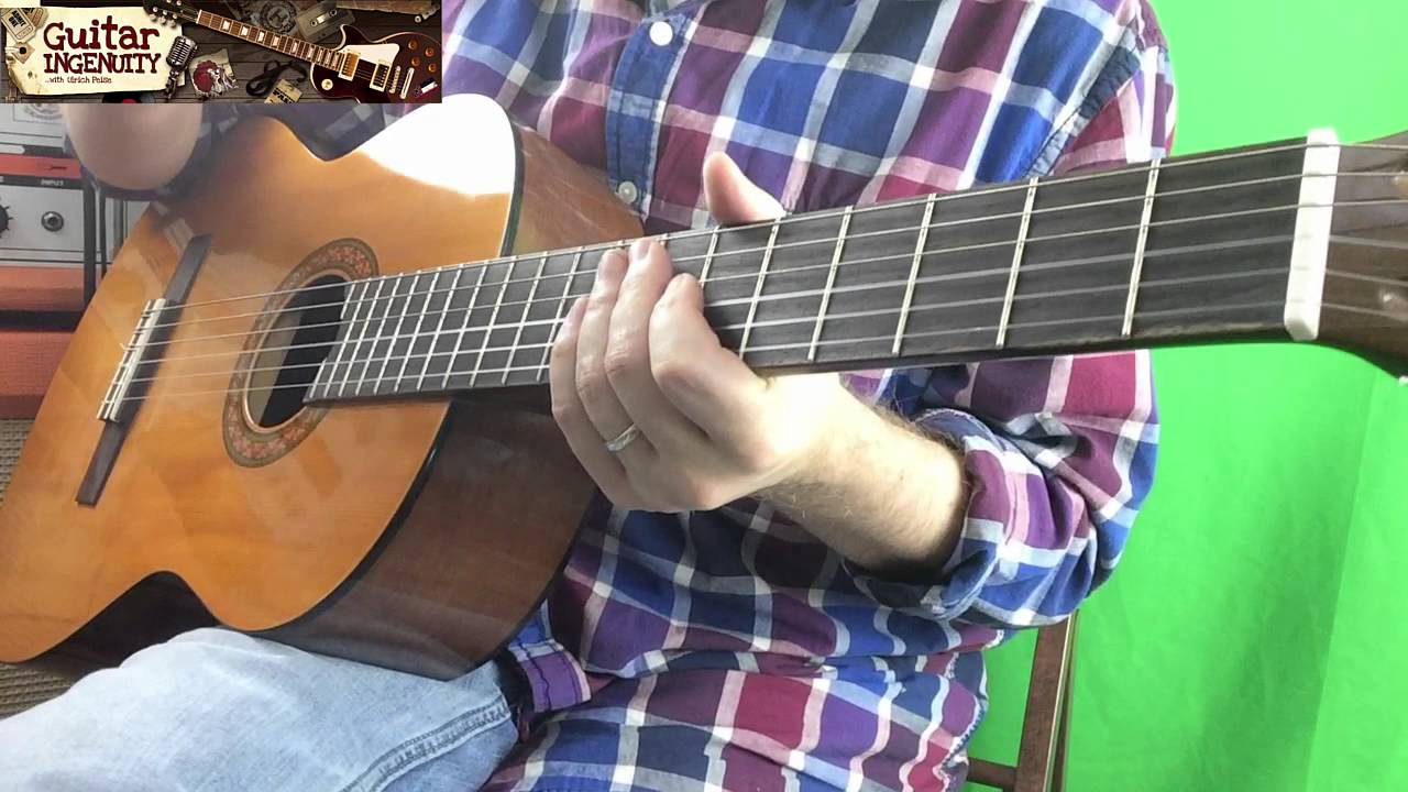 How To Play Silent Night Holy Night On Guitar Beginner Guitar