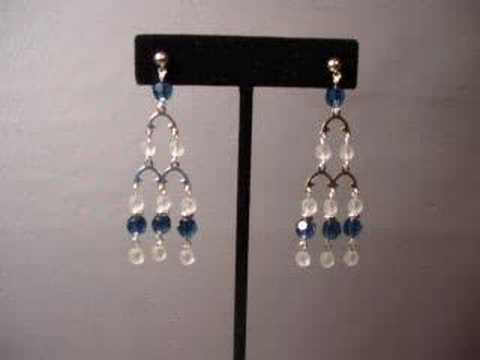 Making chandelier style earrings youtube making chandelier style earrings aloadofball Image collections