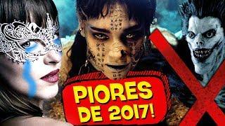 10 PIORES FILMES de 2017! 💩 👎 - ESPECIAL PIPOCANDO