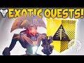 DESTINY 2 NEWS! Exotic Quests, Vendor Engrams, Darkness Removed, Rumble & Veteran Rewards