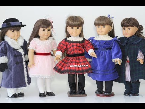 Opening Samantha Parkington & Nellie Outfits Haul 2015 For Our American Girl Dolls ~HD~
