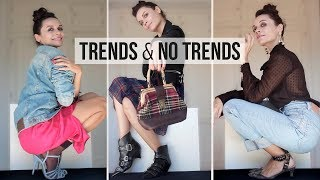 10 OUTFITS para combinar TENDENCIAS Y 'NO' TENDENCIAS | HOW TO dress TRENDS and NO TRENDS