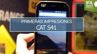 Cat S41, probamos el nuevo teléfono irrompible de CAT
