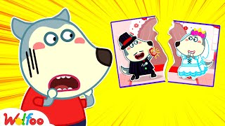 Mommy, Don't Be Angry with Daddy! - Kids Stories About Wolfoo Family | Wolfoo Family Kids Cartoon