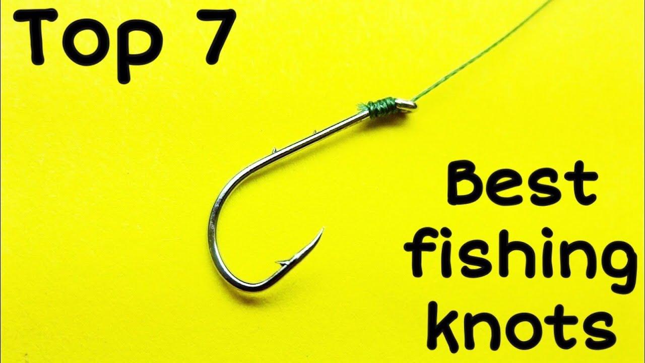 Как привязать крючок к леске   лучшее рыболовные узлы для рыбалки   как завязать узел на рыбалке