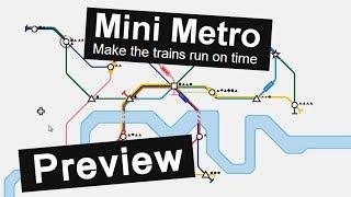 Preview: MINI METRO (Gameplay - alpha8 - deutsch)