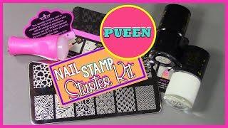 Pueen Nail Stamp Starter Kit