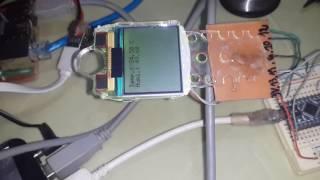 Arduino Nano DHT22 Nokia 110 LCD + code +wiring