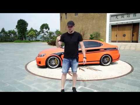 Самодельный Lexus ISF v8 5.0 литра проект FUJI