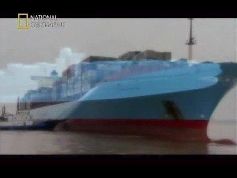 China's new mega-project: Shanghai Yangshan deep-water port 上海洋山深水港 part 2/5