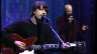 Foo Fighters - Walking After You Live on Letterman