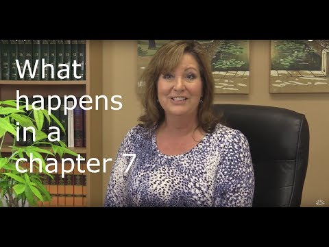 What to expect when you file a Chapter 7 bankruptcy