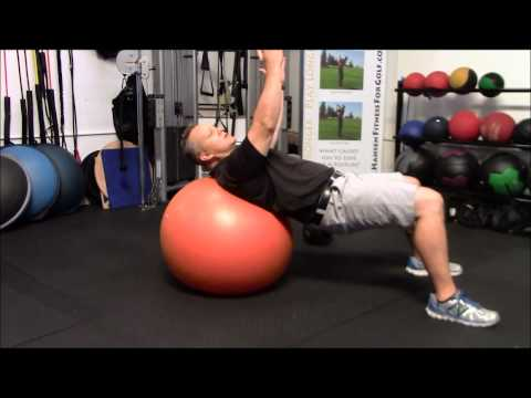 Golf Specific Stability Ball Workout