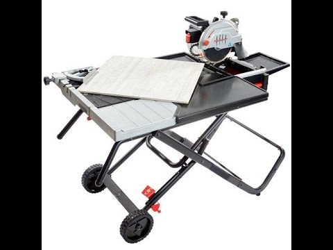 Lackmond Beast 10 Wet Tile Saw Rental At Gappower Com Youtube
