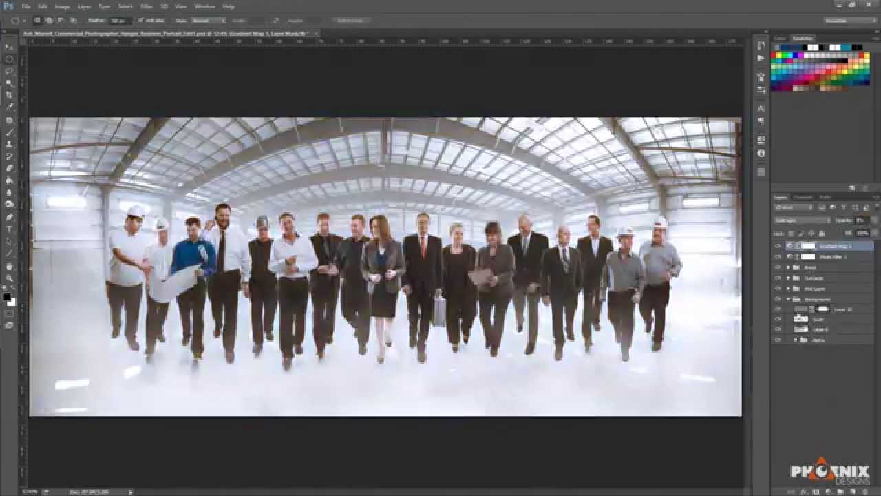 How To Composite A Large Group Youtube