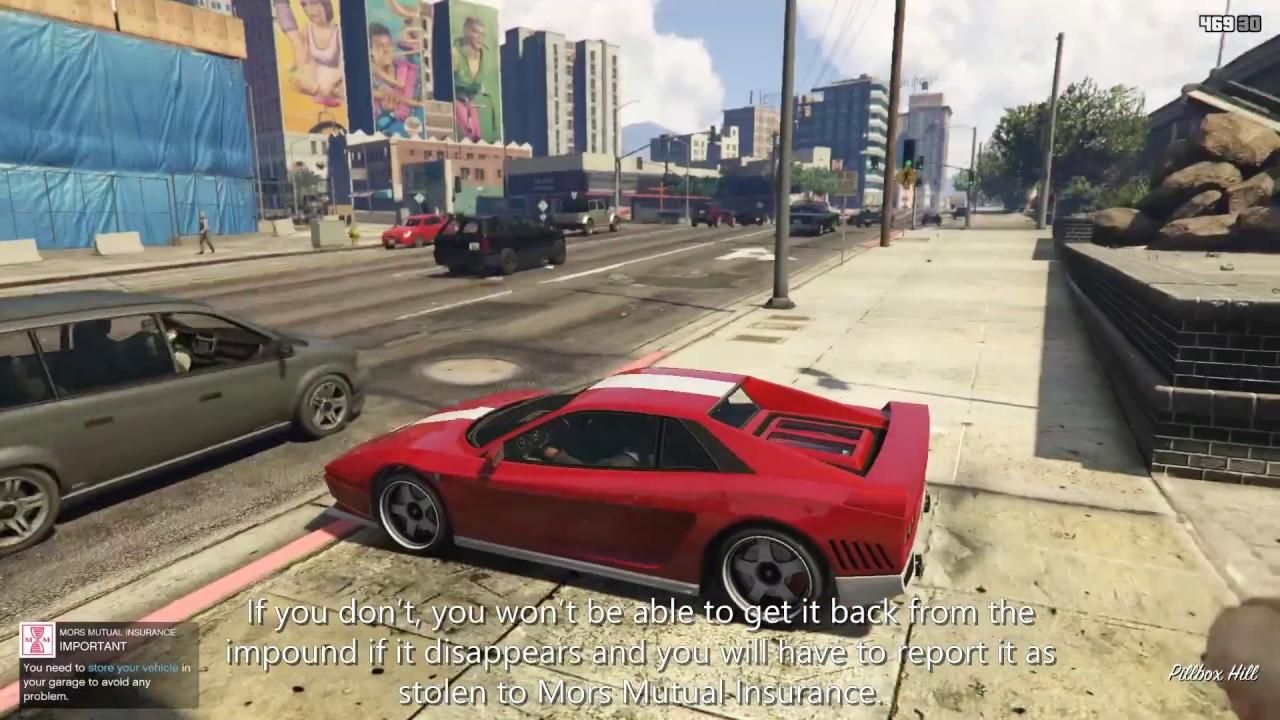 GTA V Mod: Mors Mutual Insurance - Single Player