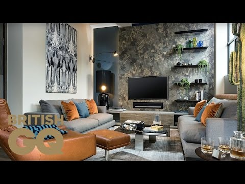 How to Style Your Living Room with Designer Daniel Hopwood | GQ Bachelor Pad | British GQ