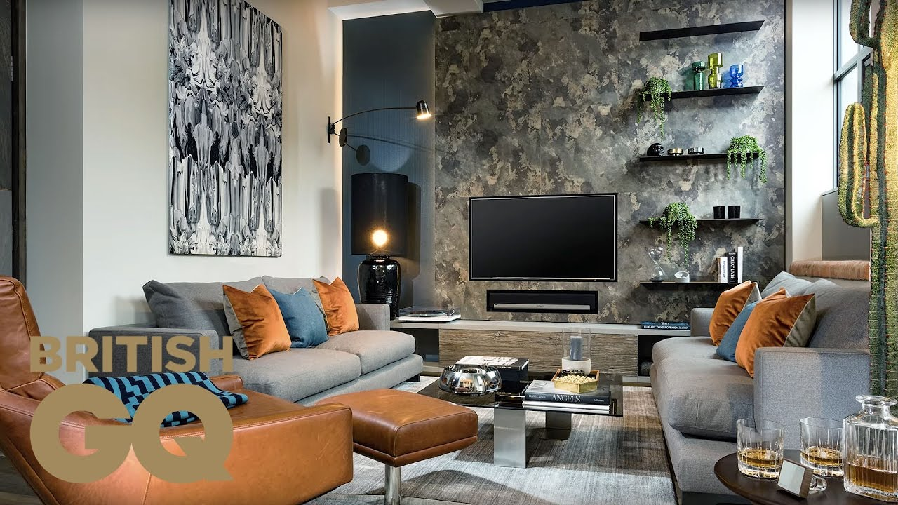 How to style your living room with designer daniel hopwood for Great british interior design