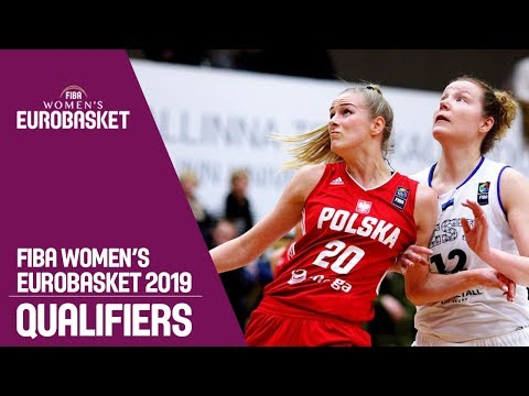 Estonia v Poland - FIBA Women's EuroBasket 2019 Qualifiers