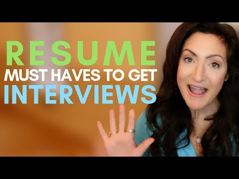 5 Things Your Resume MUST HAVE To Get More Job Interviews