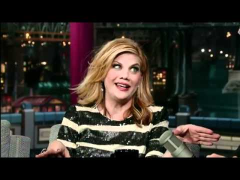 Kristen Johnston  Letterman