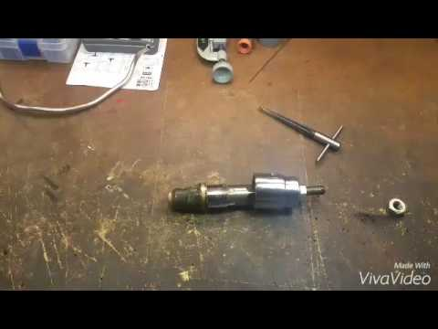 Homemade 7.3 injector cup removal tool