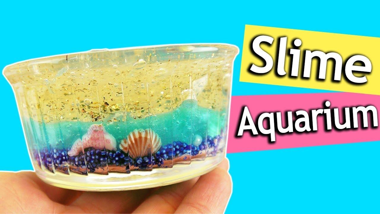 miniatur slime aquarium selber machen diy idee f rs zimmer deutsch room decor how to for. Black Bedroom Furniture Sets. Home Design Ideas