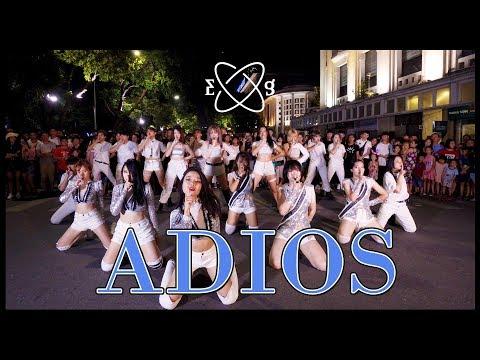 [KPOP IN PUBLIC] Adios - EVERGLOW (에버글로우) dance cover by 17HEAT from Vietnam