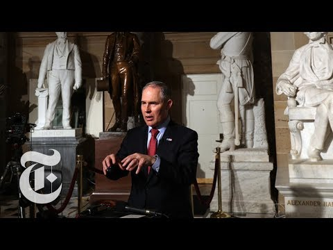 Climate Change Report vs. EPA Chief Scott Pruitt | The New York Times