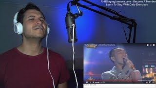 Coach Reaction - Unchained Melody - John Michael Dela Cerna