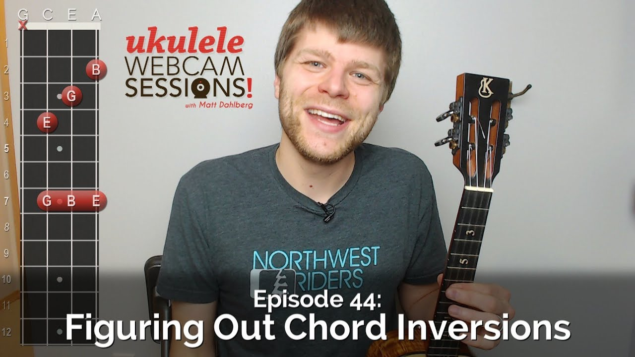 Ukulele Webcam Sessions Ep44 Figuring Out Chord Inversions