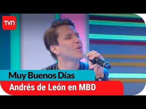 Andrés de León nos deleitó con todo su romanticismo | Muy buenos días