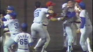 1988年 中日vs広島.