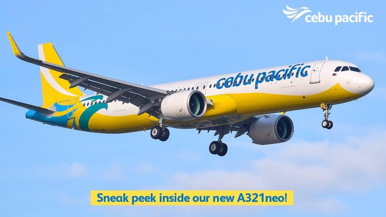 Resultado de imagen para A321neo cebu pacific