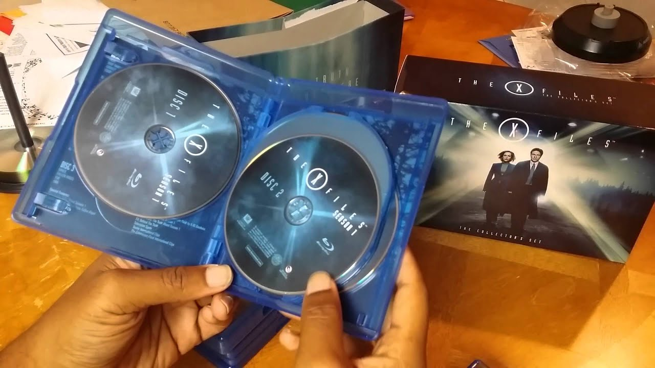 The X-Files Complete Series Blu ray Box Set - YouTube