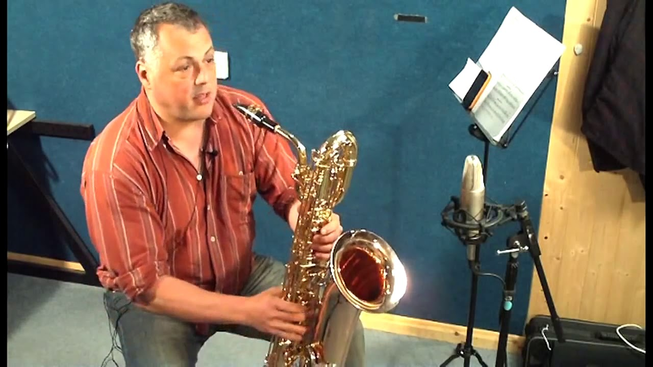 The John Packer JP144 Baritone Saxophone Demonstration by Pete Long