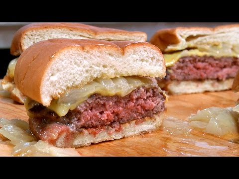 Making Butter Burgers at America's Test Kitchen!