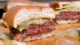 making butter burgers at america s test kitchen