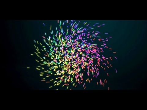 Simple particle logo Animation After Effects | After Effects Tutorial - No Third Party Plugins