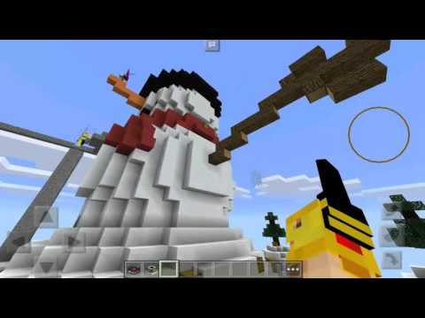 LOS SKYWARS DE LA MUERTE D: - Con Sonick Darcks y ElSirkael - Skywars - Servers LBSG Minecraft PE thumbnail