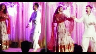 Virat Kohli Dances With Sonakshi Sinha at Rohit Sharma