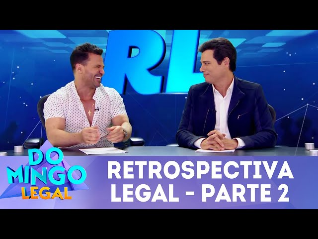 Celso Portiolli e Eduardo Costa na Retrospectiva Legal 2018 - Parte 2 | Domingo Legal (30/12/18)