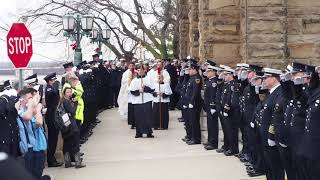 Funeral Procession for Jake Ringering