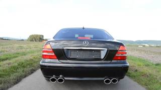 Mercedes Benz S500 W220 Exhaust,Sound,Sportabgasanlage