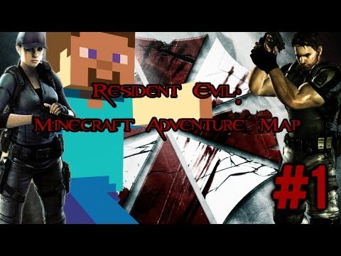 Resident Evil REmake: Minecraft Adventure Map – Humans are good, Zombies are bad – #1