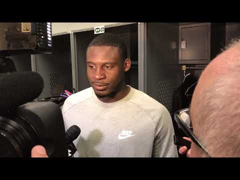 10/8/2017: Morris Claiborne post-game interview (Jets 17-Browns 14)