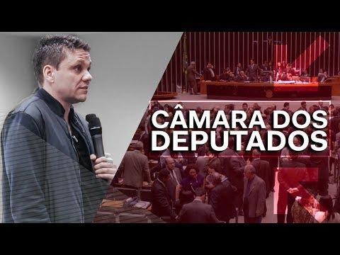 O DIA QUE PALESTREI NA CÂMARA DOS DEPUTADOS | ERICO ROCHA