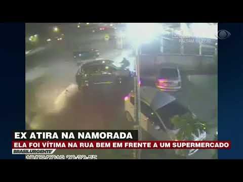 PR: Homem tenta matar ex na frente de mercado